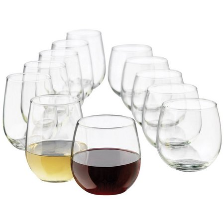 Libbey 12-pc. Stemless Goblet Set