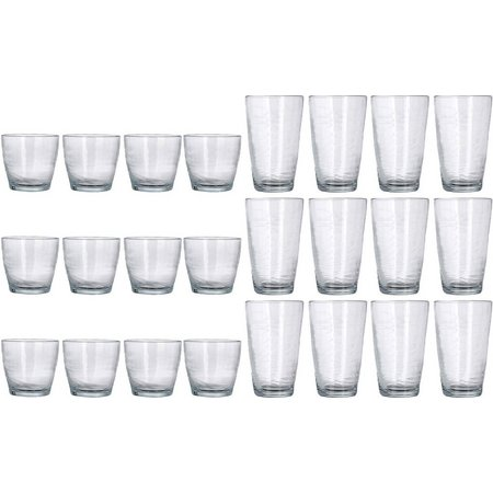 Libbey Waves 24-pc. Beverage Glassware Set
