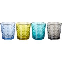 Libbey Awa Cool Color 4-pc. Rocks Glass Set