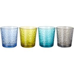 Libbey Frost Cool Color 4-pc. Rocks Glass Set