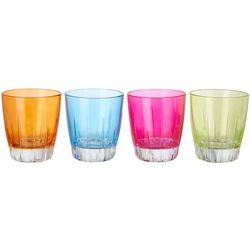Libbey Vibrant Elegance 4-pc. Rocks Glass Set