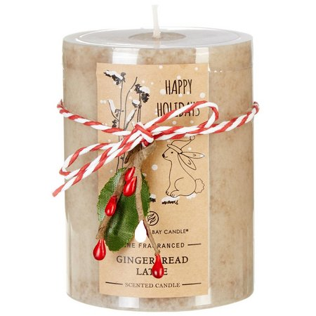 Chesapeake Bay Candle 4'' Gingerbread Latte Candle
