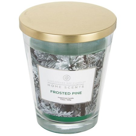Chesapeake Bay Candles Frosted Pine Jar Candle