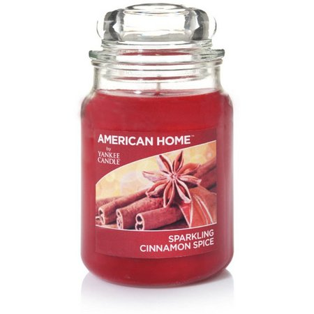 Yankee Candle 19 oz. Sparkling Cinnamon Candle