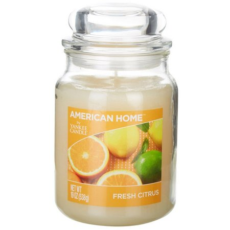 Yankee Candle 19 oz. Fresh Citrus Jar Candle