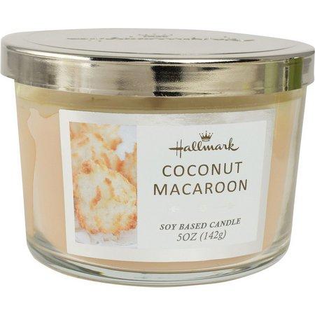 Hallmark 5 oz. Coconut Macaroon Jar Candle
