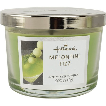 Hallmark 5 oz. Melontini Fizz Soy Jar Candle