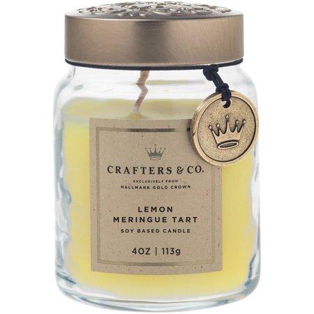 Crafters & Co. Lemon Meringue Tart Soy Jar