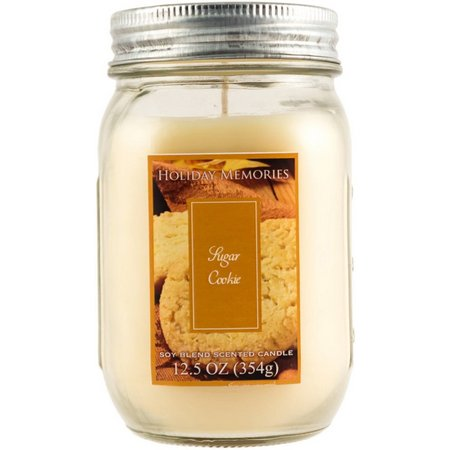 Holiday Memories 12.5 oz. Sugar Cookie Jar Candle