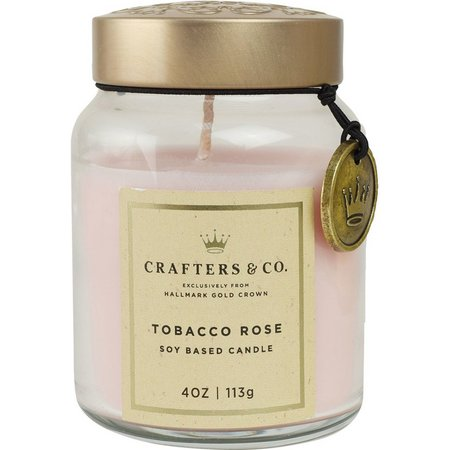 Crafters & Co. 4 oz. Tobacco Rose Soy