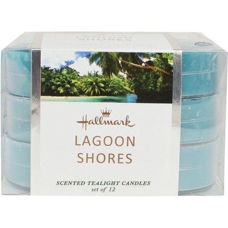Hallmark 12-pk. Lagoon Shores Scented Tealight Candles
