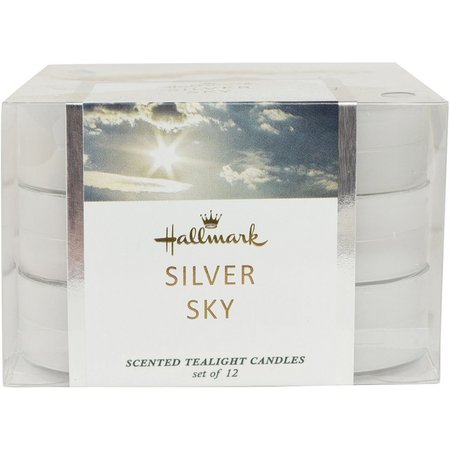 Hallmark 12-pk. Silver Sky Scented Tealight Candles