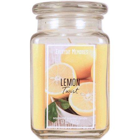 Brookside Everyday Memories Lemon Twist Candle