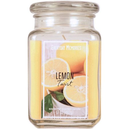 Brookside Everyday Memories Lemon Twist Candle