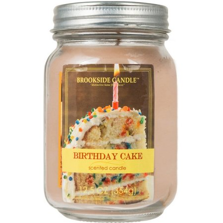 Brookside 12.5 oz. Birthday Cake Jar Candle