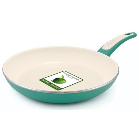 GreenPan Focus 8'' White Turquoise Fry Pan