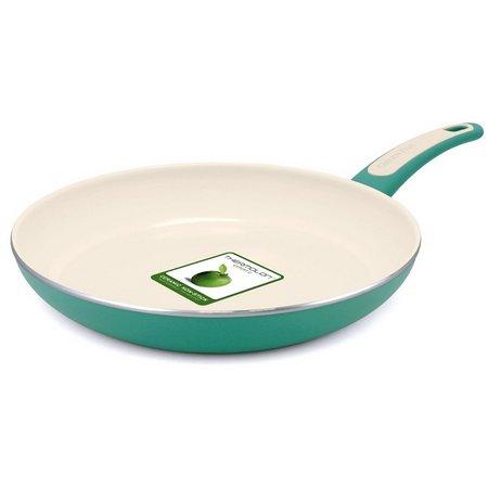 GreenPan 12'' Turquoise Fry Pan