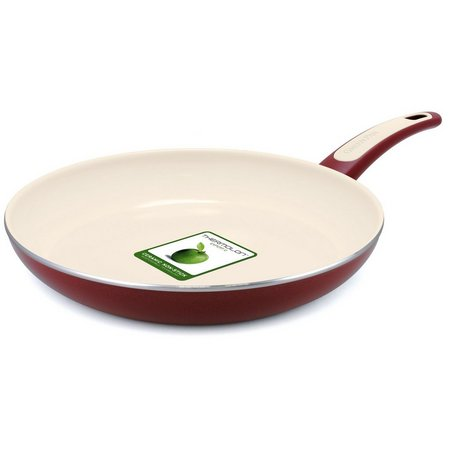 GreenPan Focus 12'' Burgundy Fry Pan