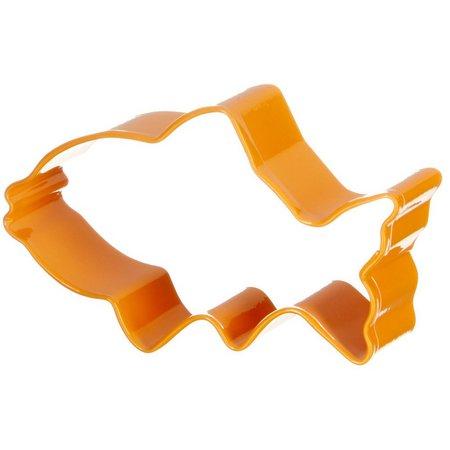 R&M International Orange Fish Cookie Cutter