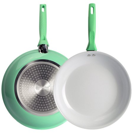 Ecolution Bliss 8'' Green Ceramic Fry Pan