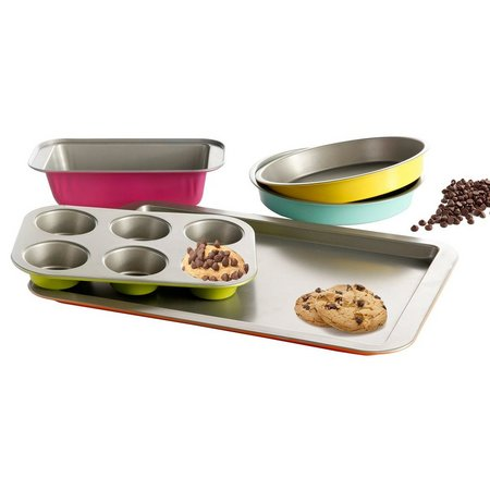 Colorsplash 5-pc. Lyneham Bakeware Set