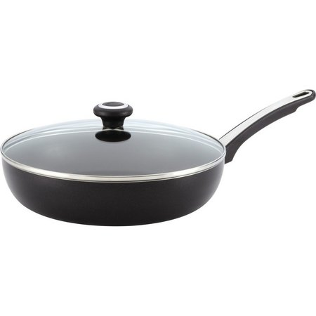 Farberware 12'' Covered Black Skillet