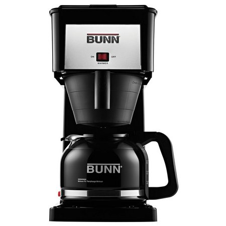 BUNN GRB Velocity Brew 10-Cup Black Coffee Maker