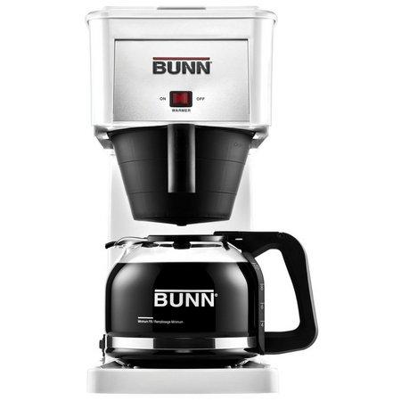 BUNN GRW Velocity Brew 10-Cup White Coffee Maker
