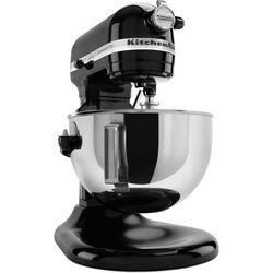 KitchenAid 5 Qt. Plus Black Stand Mixer KV25GOXOB
