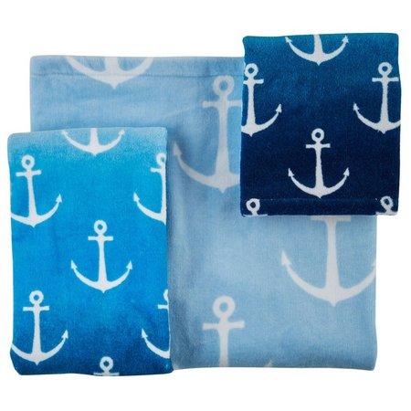 CHF Ombre Anchor Bath Towel Collection
