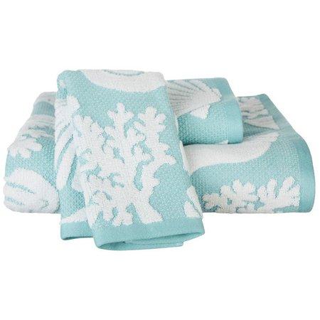 CHF Shell Beach Bath Towel Collection