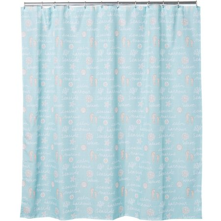 CHF Ocean View Shower Curtain