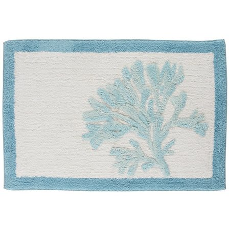 CHF Cove Bay Bordered Bath Rug