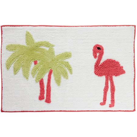 CHF Pink Flamingo Bath Rug