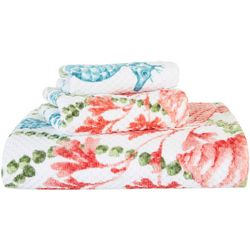 CHF Pearl Sea Weed Printed Bath Towel Collection