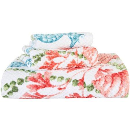 CHF Pearl Sea Weed Printed Bath Towel Collection