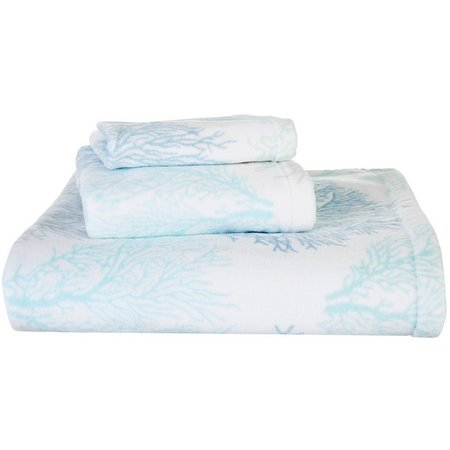 CHF Sea Reef Printed Bath Towel Collection