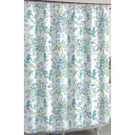 CHF Pearl Seaweed Shower Curtain