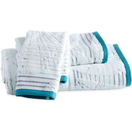 CHF Destinations Mykonos Jacquard Towel Collection