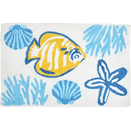 CHF Destinations Barbados Bath Rug