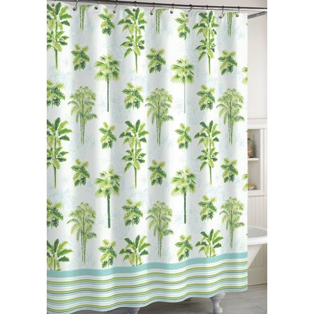 CHF Destinations Tropical Palm Shower Curtain
