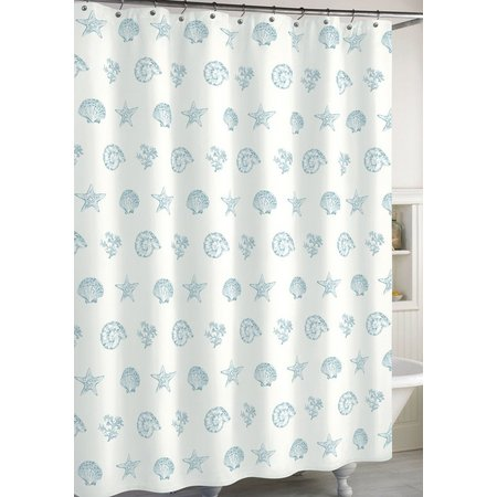 CHF Destinations Coastal Shell Shower Curtain