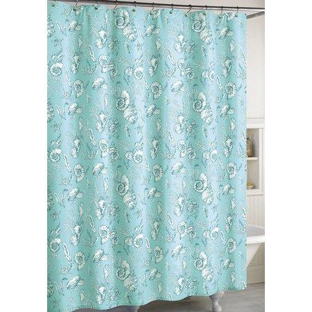 CHF Destinations Seashells Shower Curtain