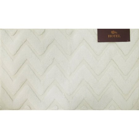 Devgiri Chevron Cut Loop Bath Rug