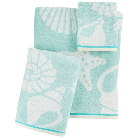 Christy Sea Life Shell Towel Collection