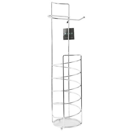 BINO Spiral Chrome Finish Toilet Paper Holder