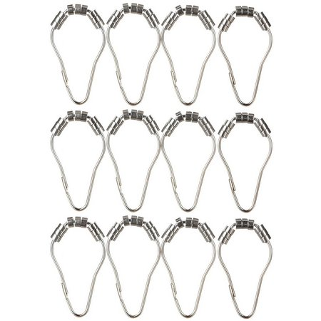 Excell Home Fashions Power Glide Curtain Ring Set