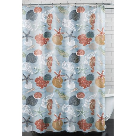 Excell Home Coral Bay Shower Curtain
