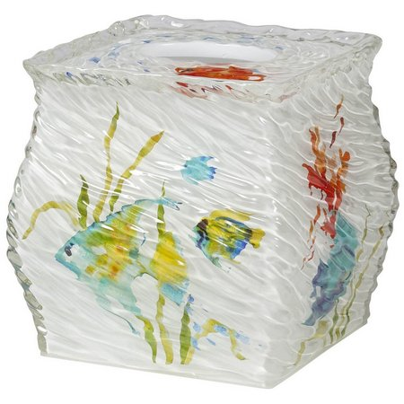 Creative Bath Rainbow Fish Tissue Box