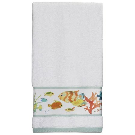 Creative Bath Rainbow Fish Hand Towel